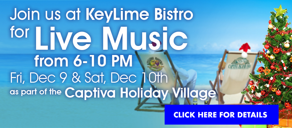 Live Music at Keylime Bistro Dec 9 and 10